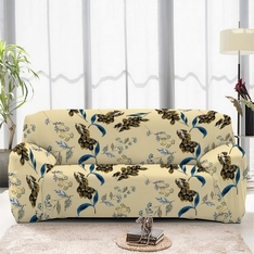 Чехол на двухместный диван, кресло 145x180 + 2 подушки из той же ткани