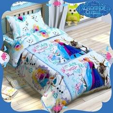 Детское постельное белье из бязи Холодное сердце
