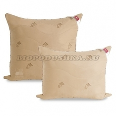 Подушка из верблюжьей шерсти 70х70 Верби